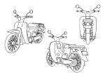 作業用バイク ヤマハメイト