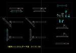 H鋼用ハシゴホルダー(平面)