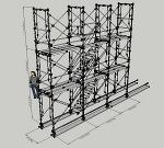枠組足場階段枠W900(簡易版)