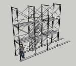 枠組足場階段枠W1200(簡易版)