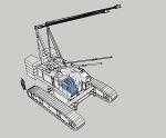 クローラークレーン KH850-3(ベースマシーン) 日立� /></a><br /><span class =