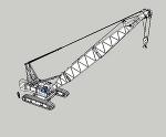 クローラークレーン KH850-3(エクステンションブーム