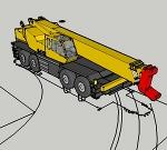 ラフタークレーン SL-700R(70tラフター、走行時) 加� /></a><p><a href=
