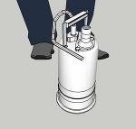 工事用水中ポンプ 32Φ