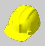 ヘルメット(黄色)