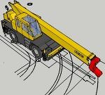 ラフタークレーン SR-200R(20tラフター、走行時) 加� /></a><br /><span class =