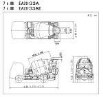 生コン車 7t車 EA28