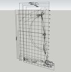 解体専用機SK550(作業姿勢テンプレート)