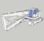 解体専用機コベルコSK235