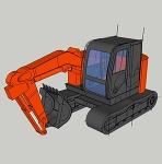 ZX75US-5B 低頭キャブ ショートリーチ仕様(カラー)