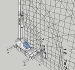 ラフタークレーン30t GR300N(揚程図)