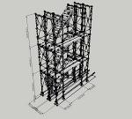 枠組足場階段枠W600(簡易版)