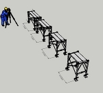枠組足場調整枠W600×H900(簡易版)