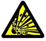 爆発の危険あり