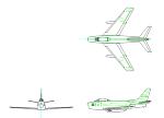 F-86 ブルーインパルス