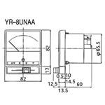 三菱電機[切替スイッチ付電流計] YR-8UNAA