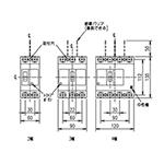 三菱電機[ノーヒューズ遮断器(ブレーカー)] NF125-CV