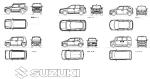 スズキ車6種