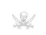 ジョン・ラカムの海賊旗
