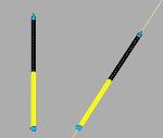 伸縮トラロープ(立入禁止等明示用)