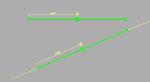 伸縮単管バリケード(4m)
