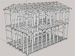 木造2階建て練習