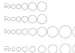 電線管各種断面図