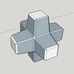 六脚ブロックK20t型